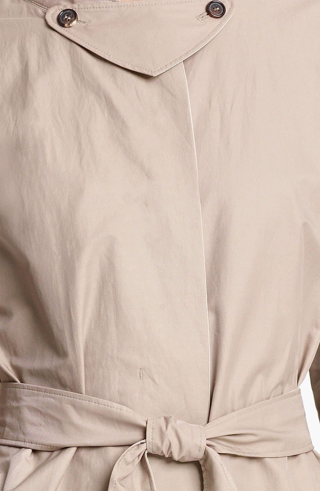 Alternate Image 4  - Max Mara Belted Trench Coat