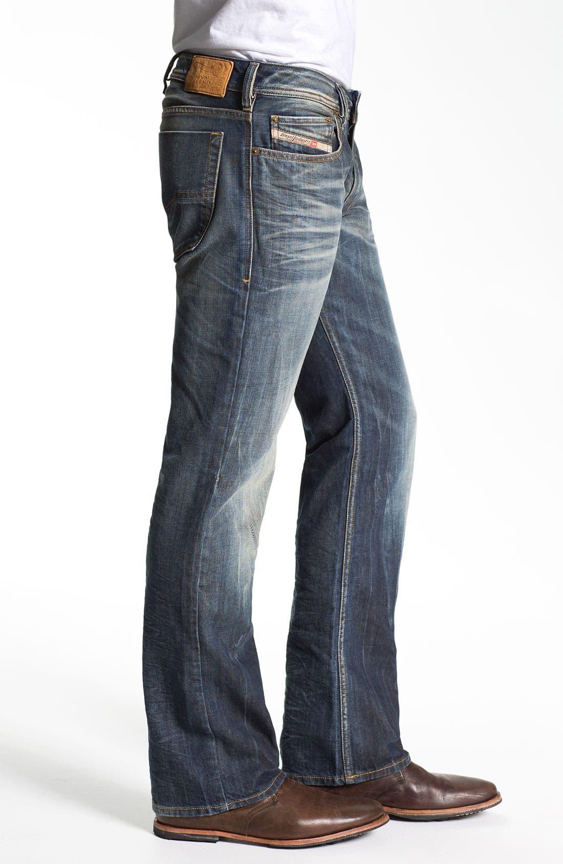 Alternate Image 3  - DIESEL® 'Zatiny' Bootcut Jeans (803M)