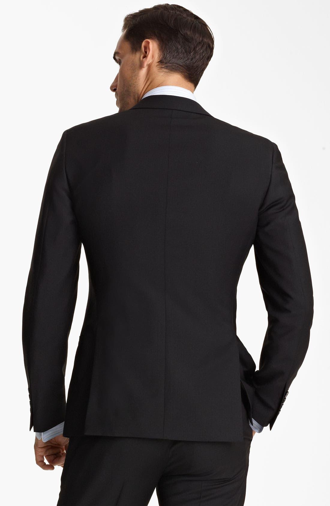 Alternate Image 2  - Dolce&Gabbana Wool Suit