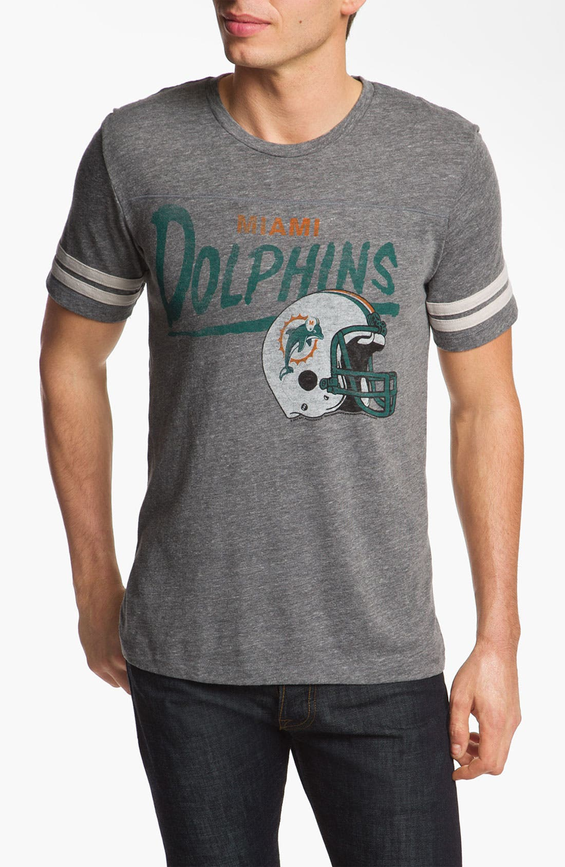 Alternate Image 1 Selected - Junk Food 'Miami Dolphins' T-Shirt