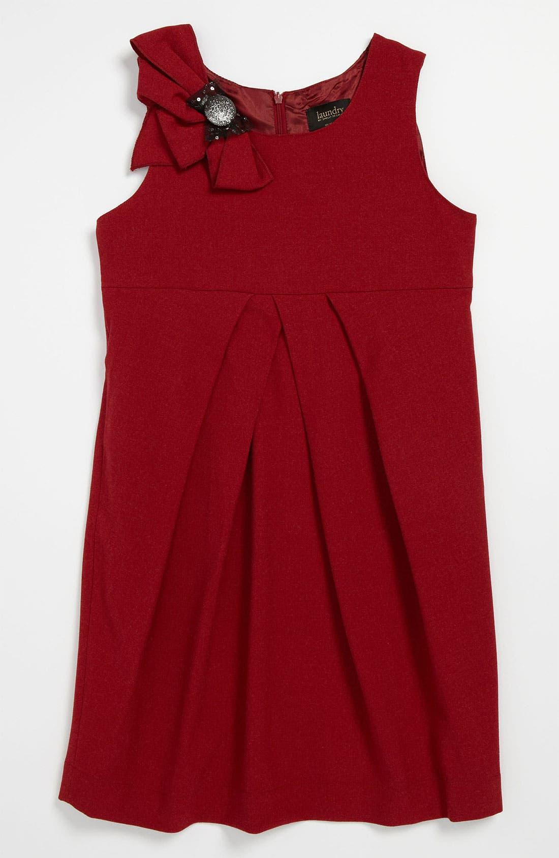 Main Image - Laundry by Shelli Segal 'Chelsea' Dress (Big Girls)