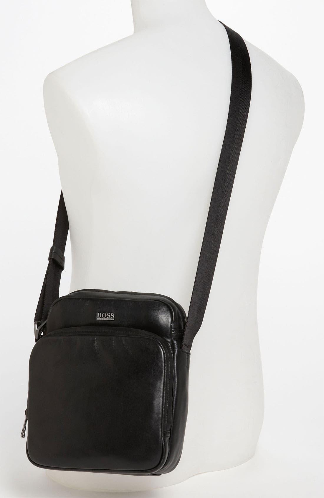Alternate Image 4  - BOSS Black 'Kunsty' Messenger Bag
