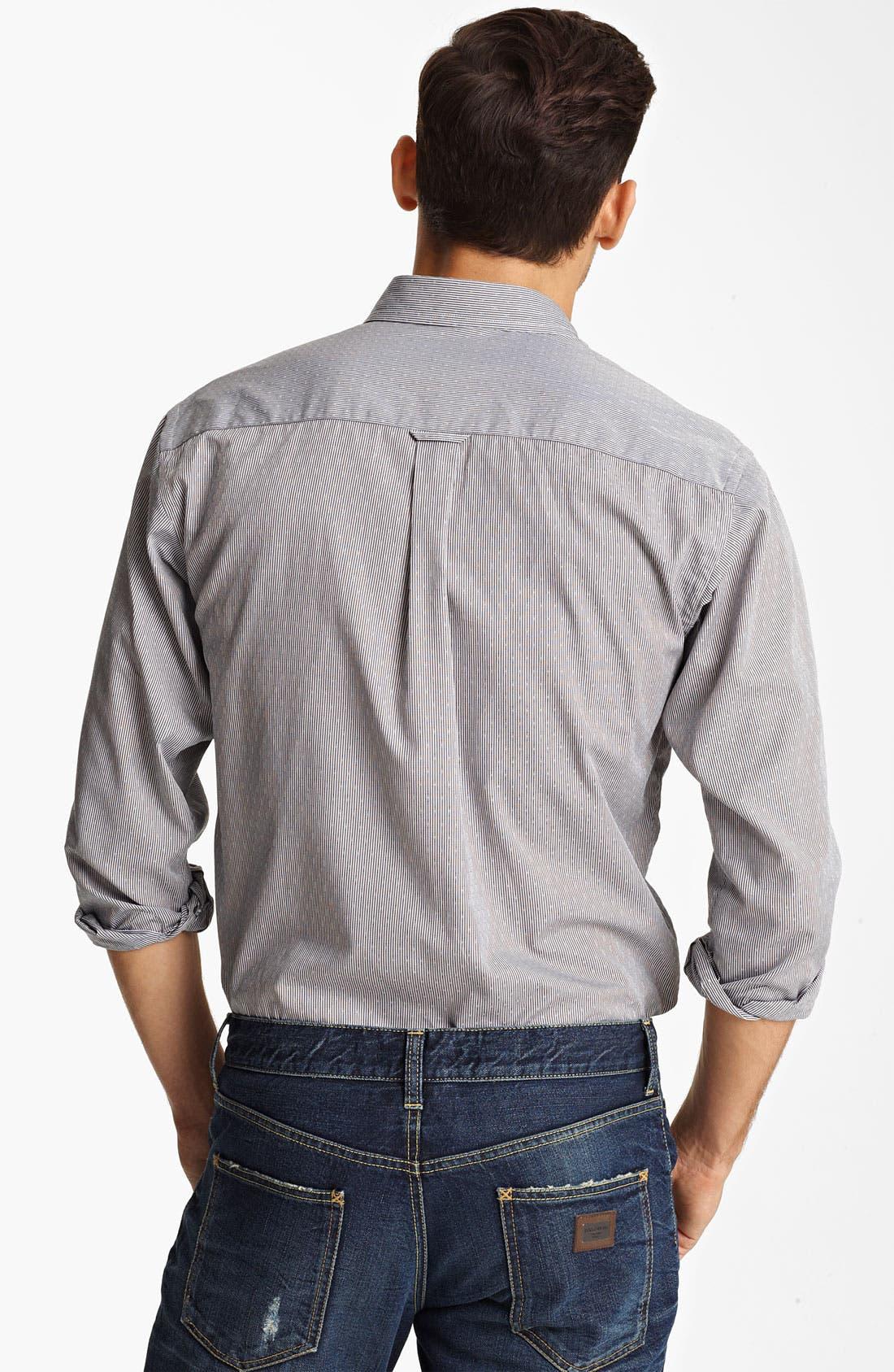 Alternate Image 2  - Dolce&Gabbana Microstripe Woven Shirt