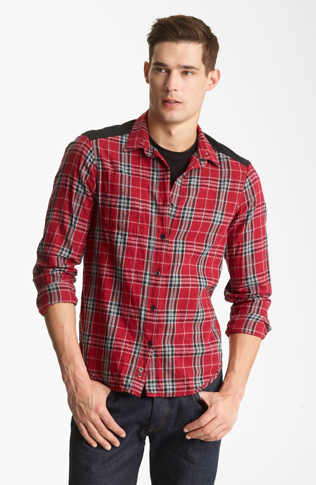 Alternate Image 4  - Rogan 'Isidoud' Reversible Check Sport Shirt
