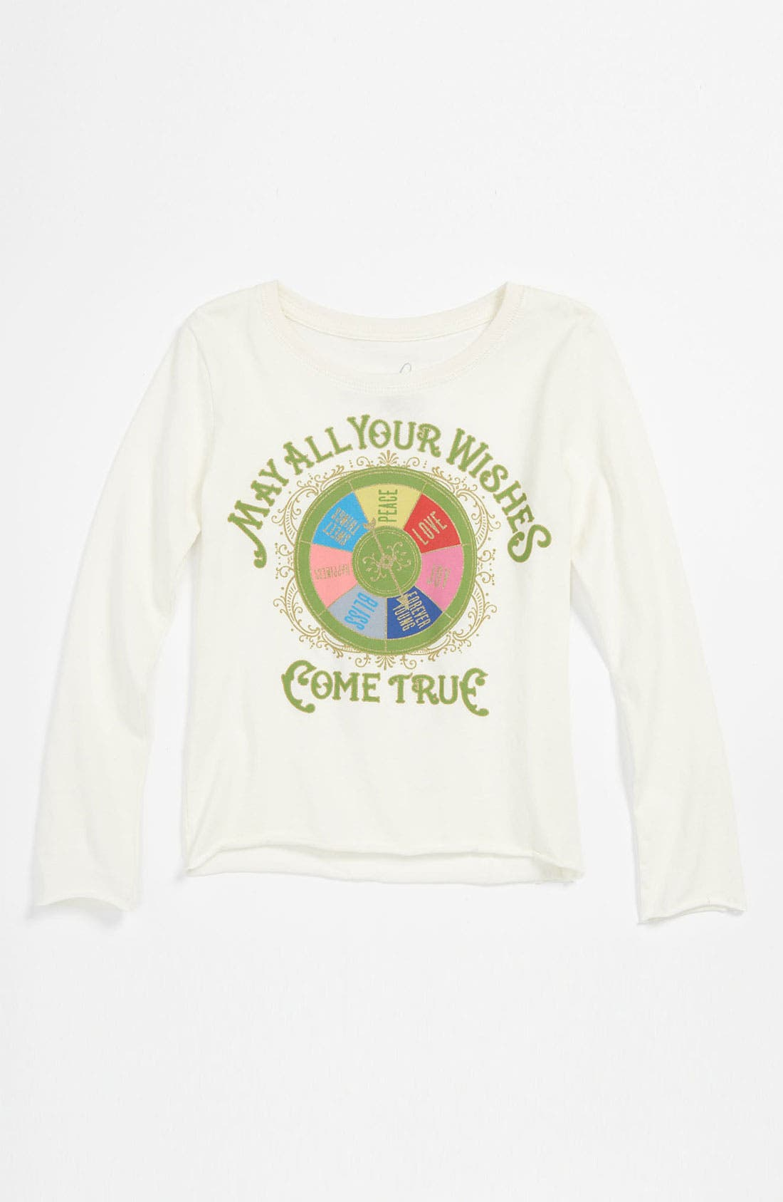 Alternate Image 1 Selected - Peek 'Wishing Wheel' Tee (Toddler, Little Girls & Big Girls)