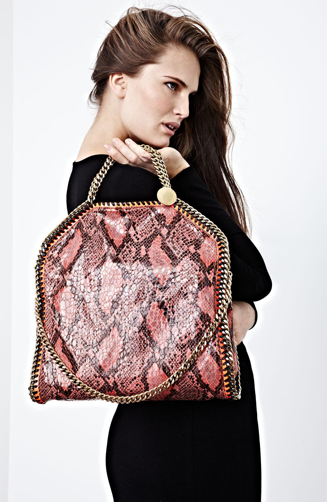Alternate Image 5  - Stella McCartney 'Falabella' Faux Python Handbag