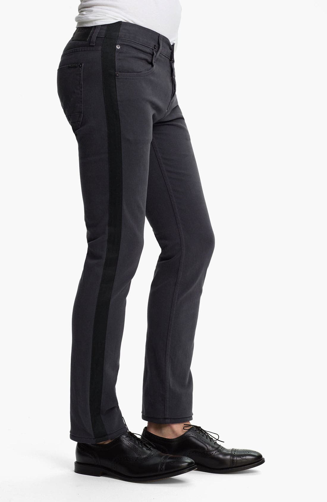 Alternate Image 3  - Hudson Jeans 'Lou Tuxedo' Slim Straight Leg Jeans (Incognito)
