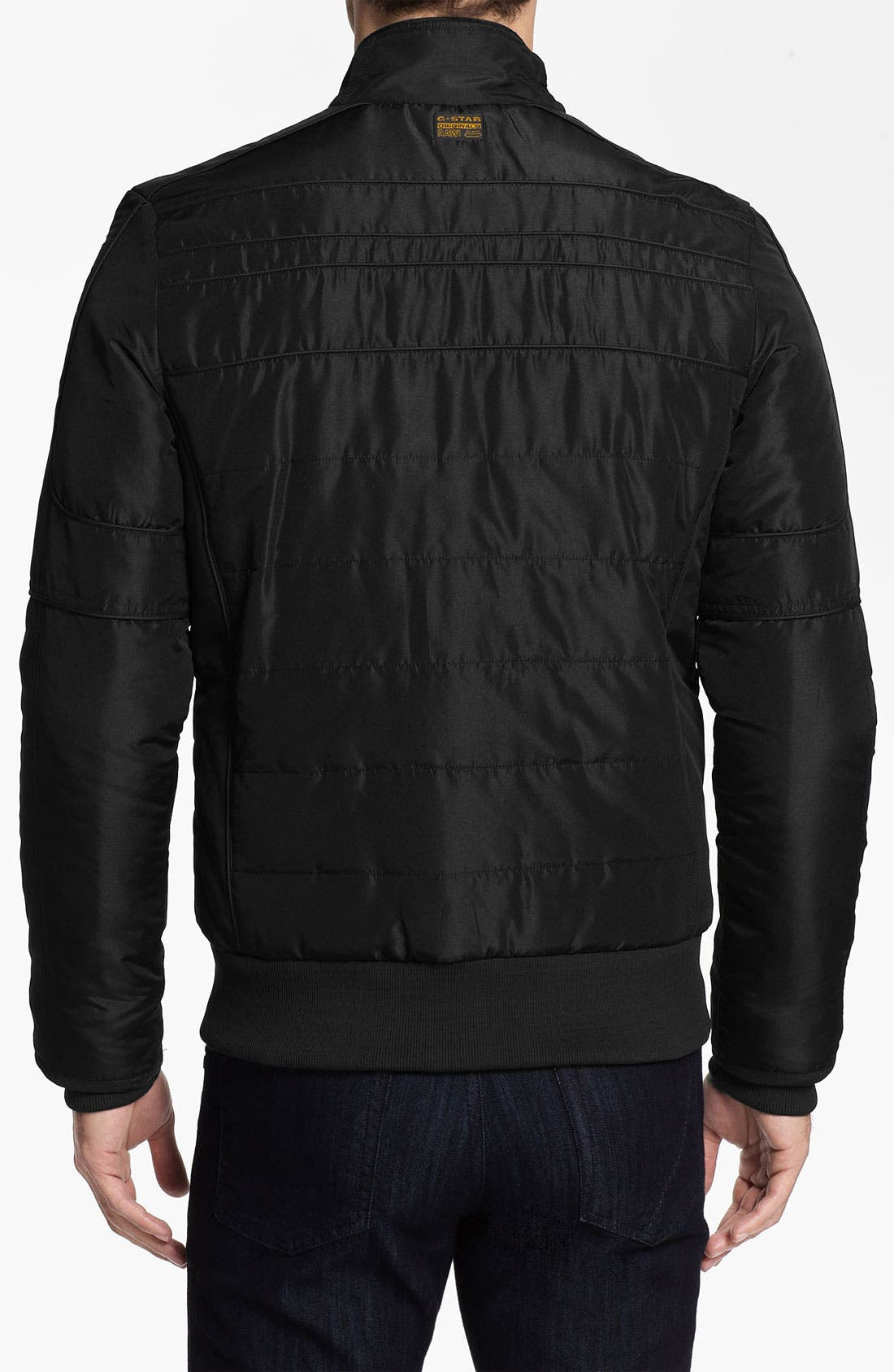Alternate Image 2  - G-Star Raw 'Mortiz' Quilted Moto Jacket