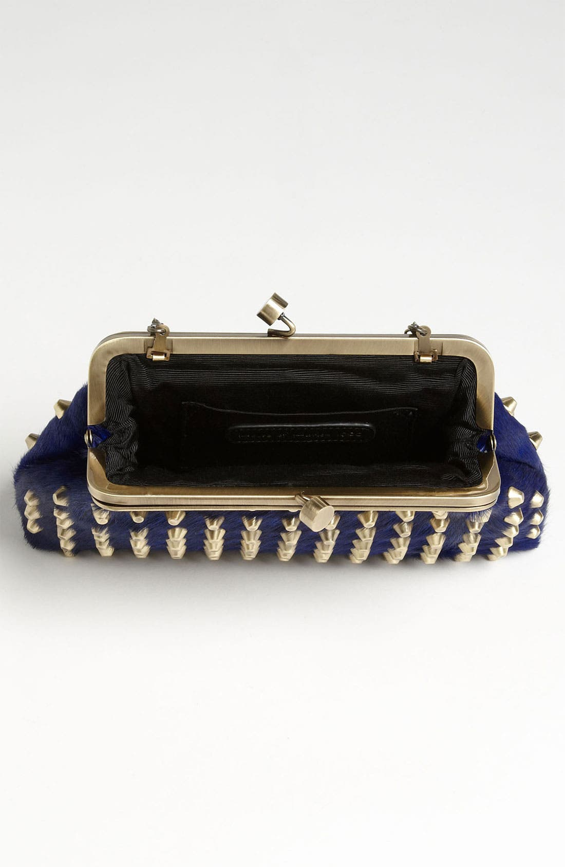 Alternate Image 3  - House of Harlow 1960 'Tilly' Studded Calf Hair Clutch