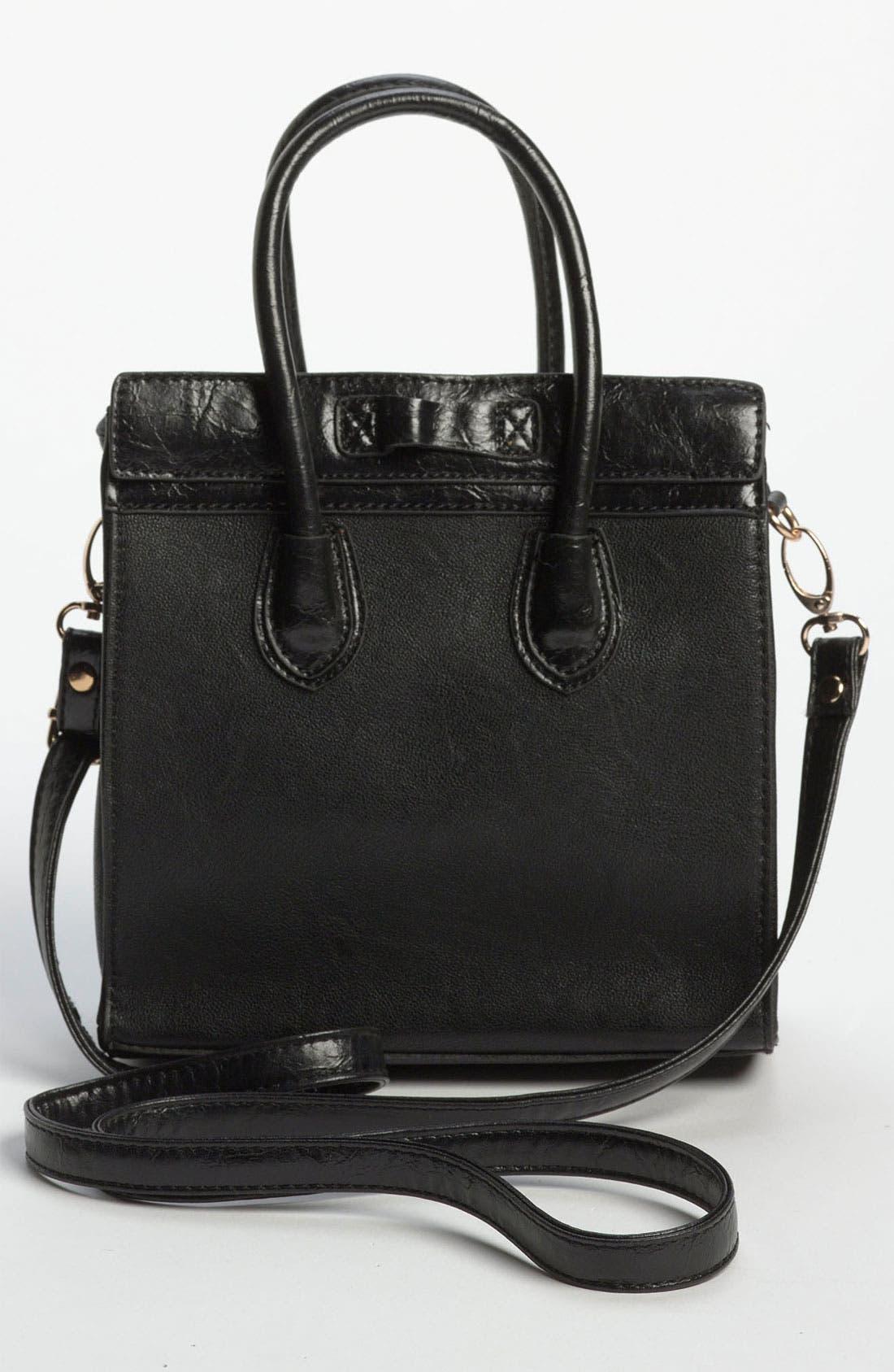 Alternate Image 4  - Street Level Structured Tote Bag