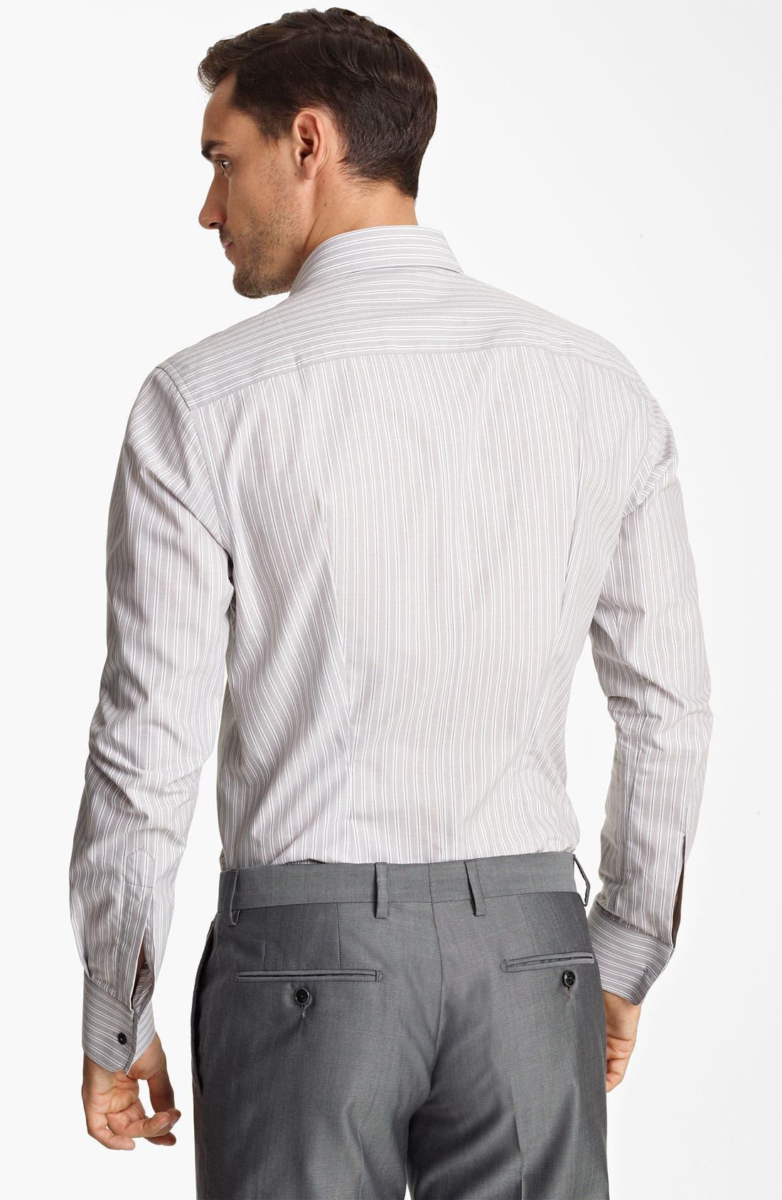 Alternate Image 2  - Dolce&Gabbana Stripe Dress Shirt