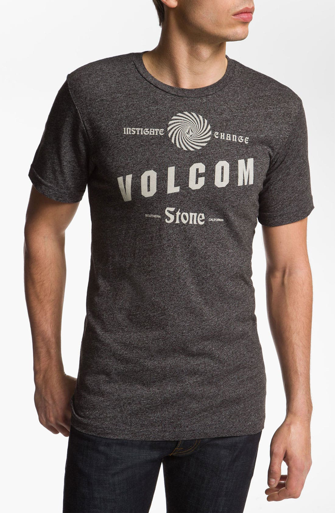 Alternate Image 1 Selected - Volcom 'Stackers' T-Shirt