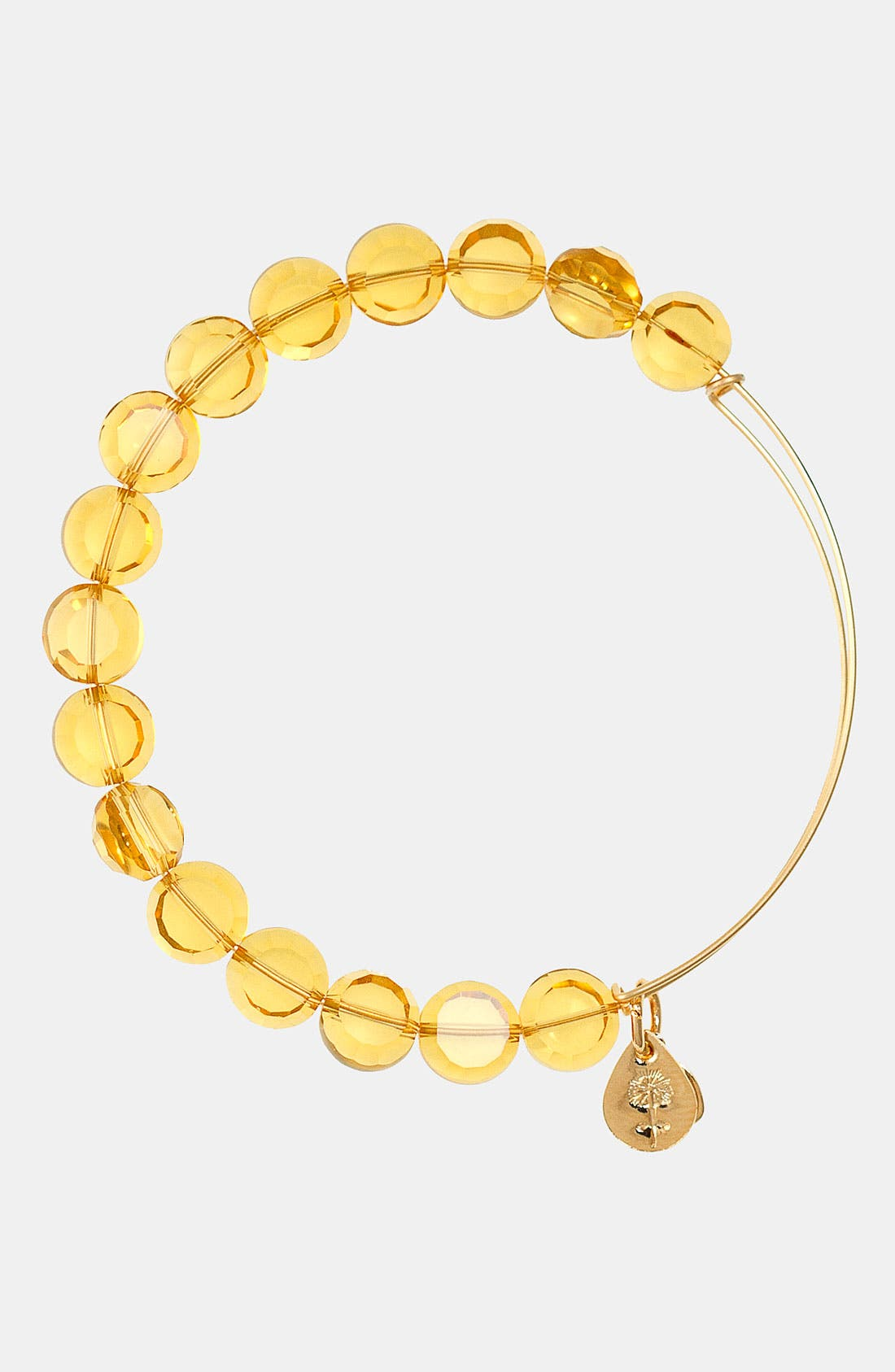 Main Image - Alex and Ani 'Luxe Bead' Expandable Wire Bangle