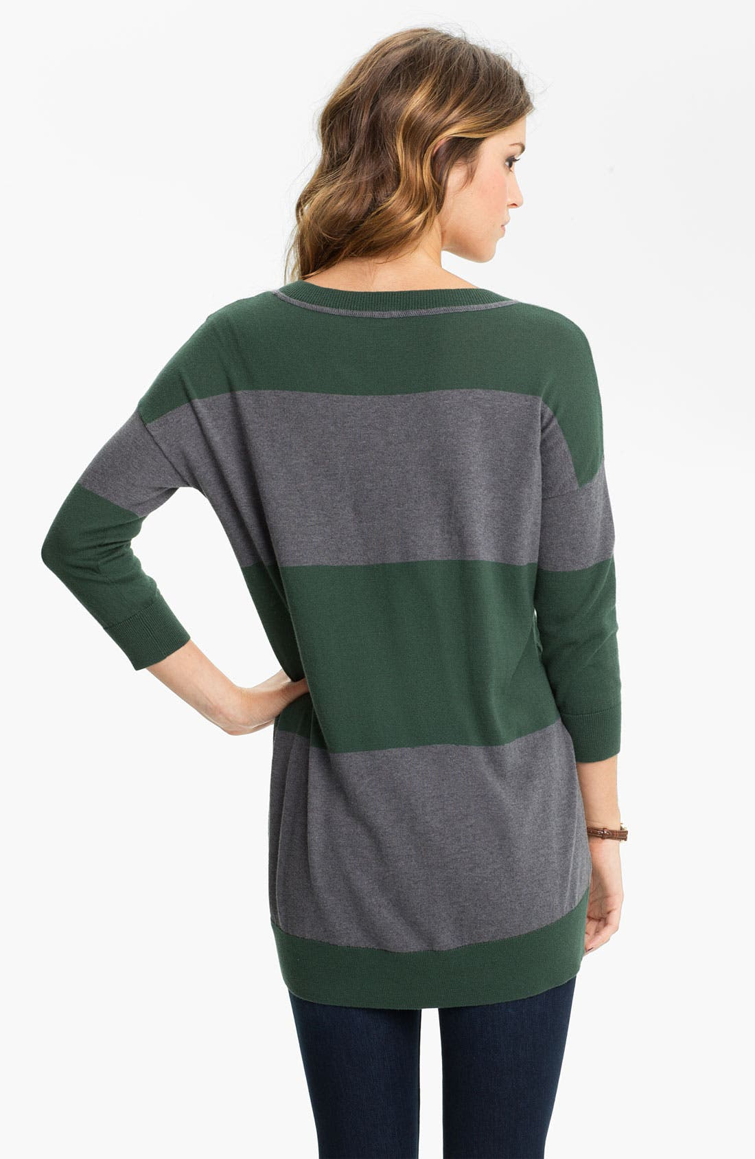 Alternate Image 2  - BP. Rugby Stripe Tunic Sweater (Juniors)