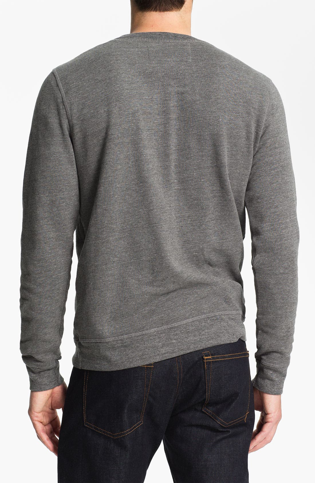 Alternate Image 2  - UNCL Crewneck Fleece Sweatshirt