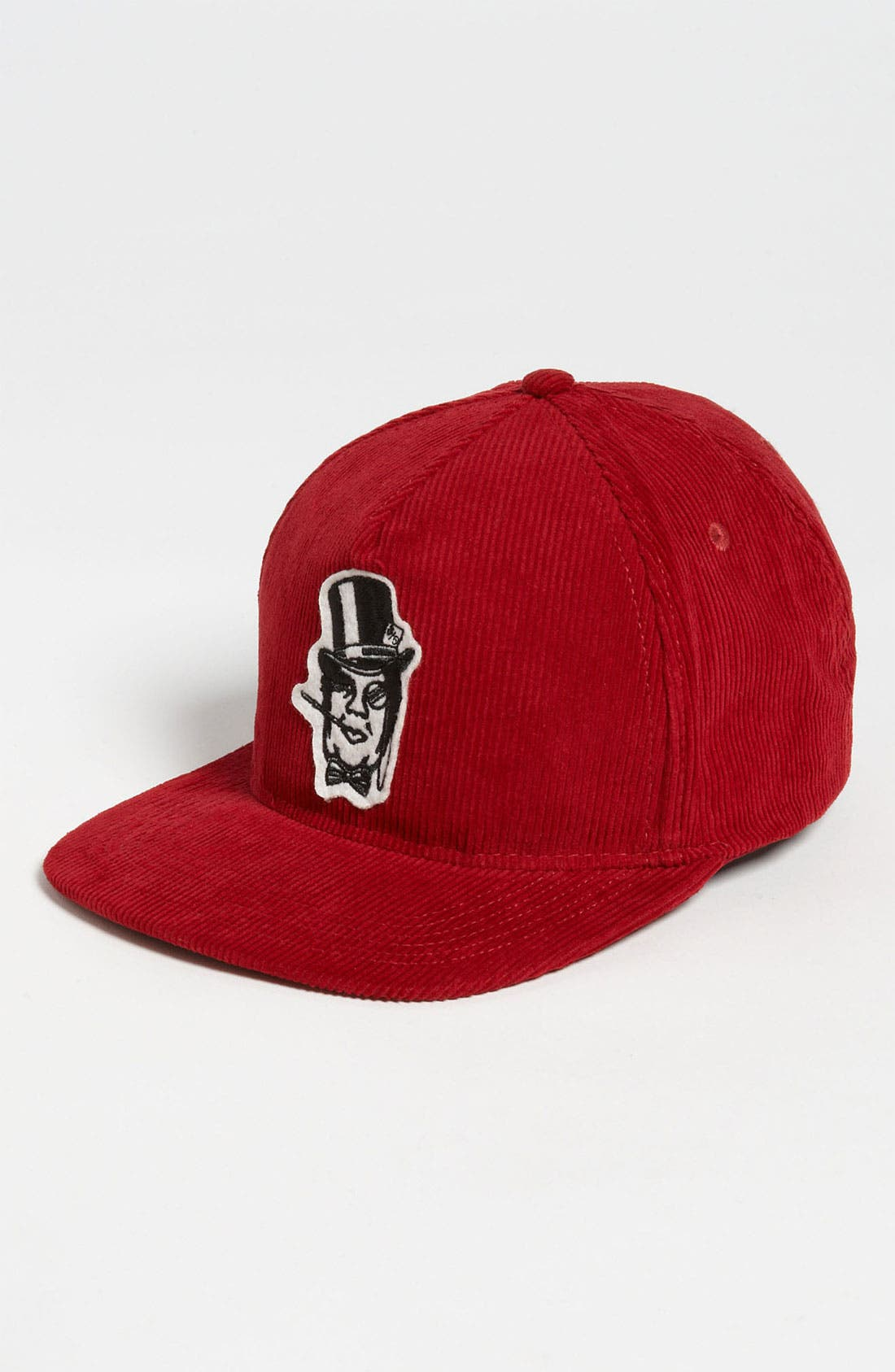 Alternate Image 1 Selected - Obey 'Bourgeois Andre' Corduroy Snapback Baseball Cap