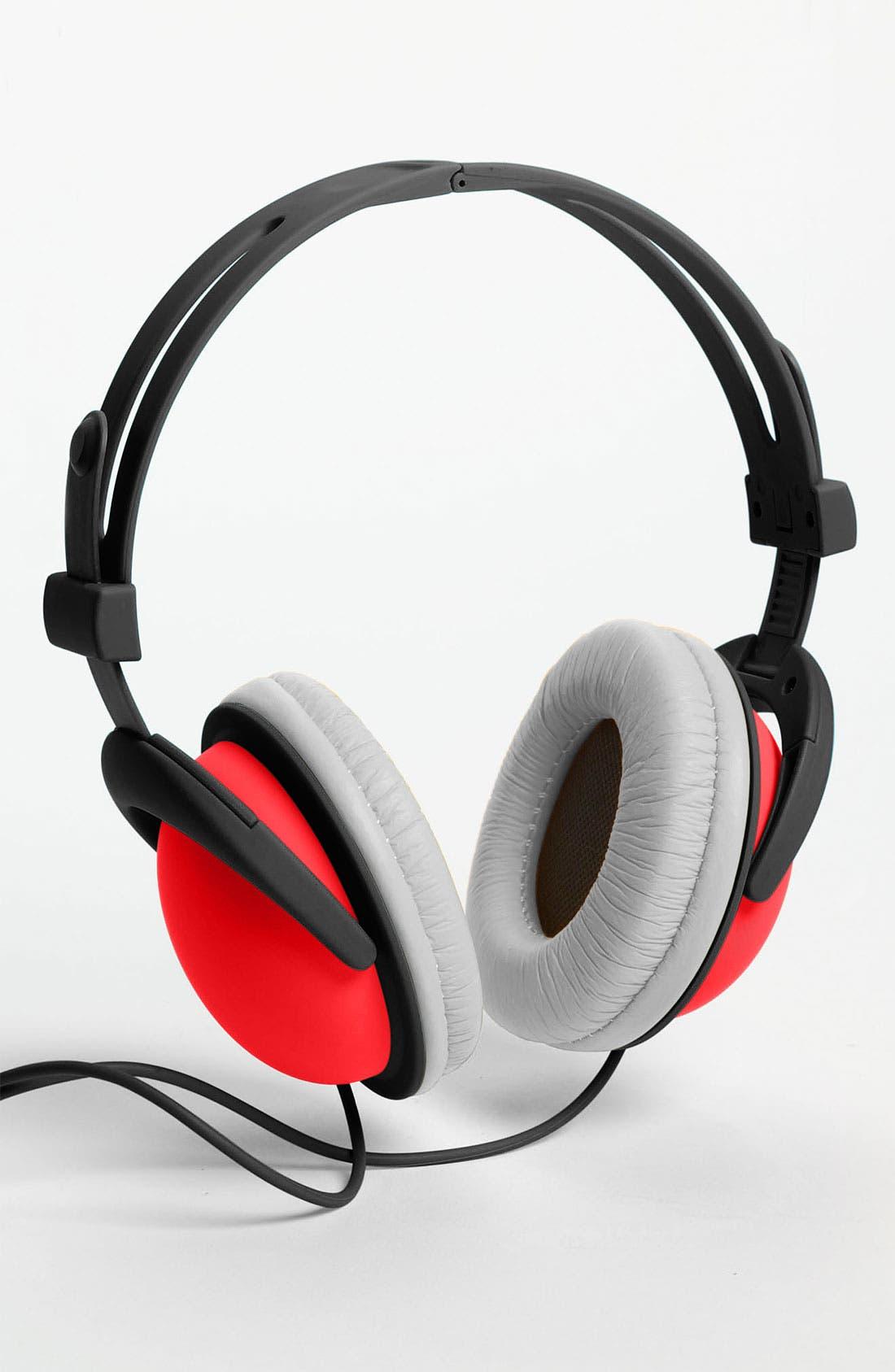 Alternate Image 1 Selected - Decor Craft Colorblock Headphones