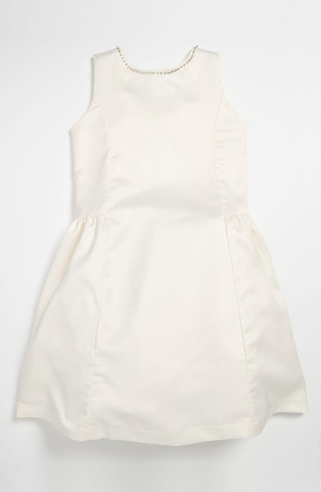 Alternate Image 1 Selected - La Piccola Danza Kidswear Bow Back Dress (Little Girls & Big Girls)