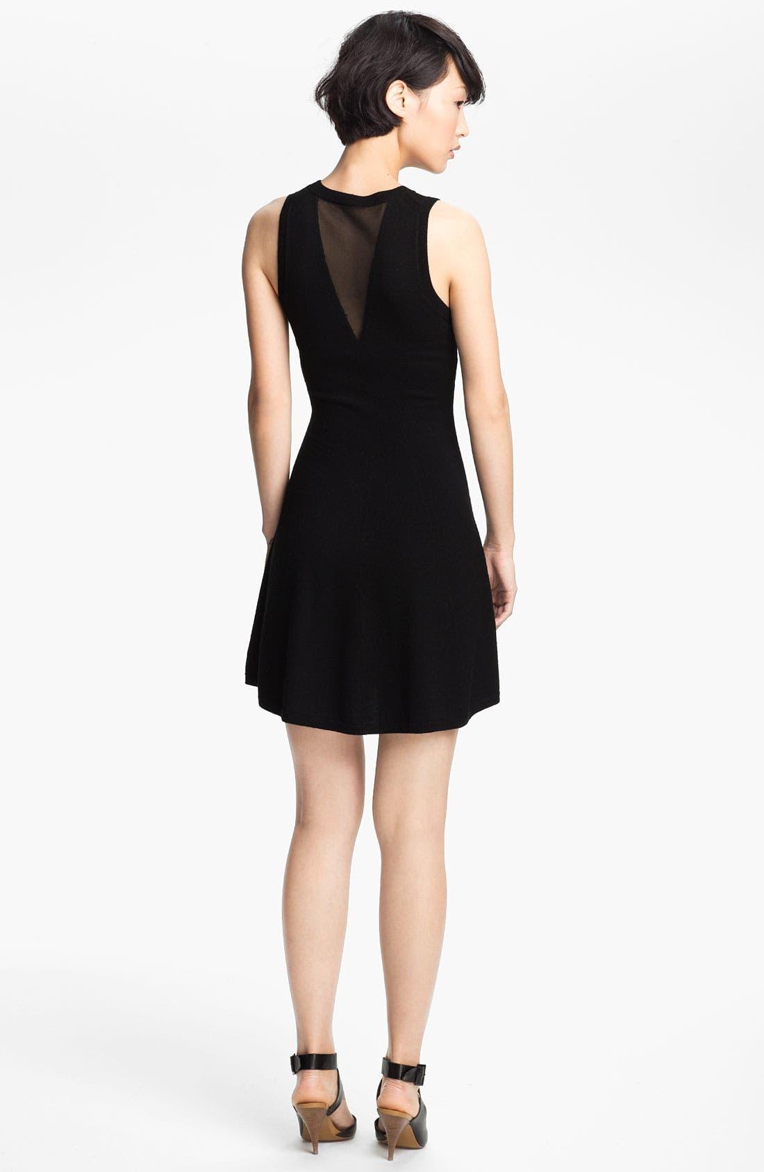 Alternate Image 2  - 3.1 Phillip Lim Sheer Detail Knit Dress