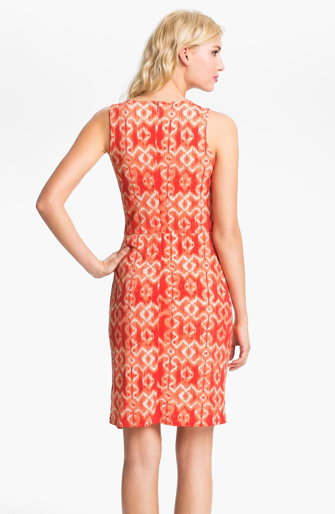 Alternate Image 2  - MICHAEL Michael Kors Ikat Print Dress