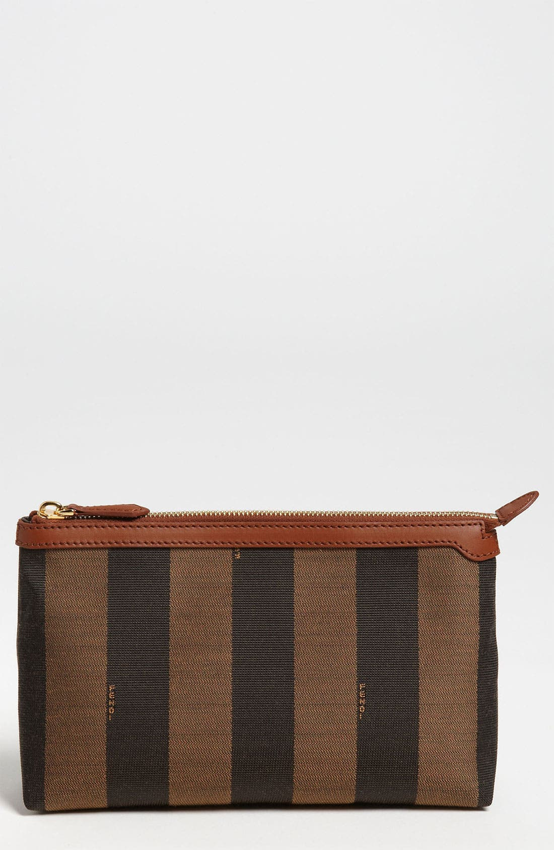 Alternate Image 1 Selected - Fendi 'Pequin - Large' Cosmetics Case