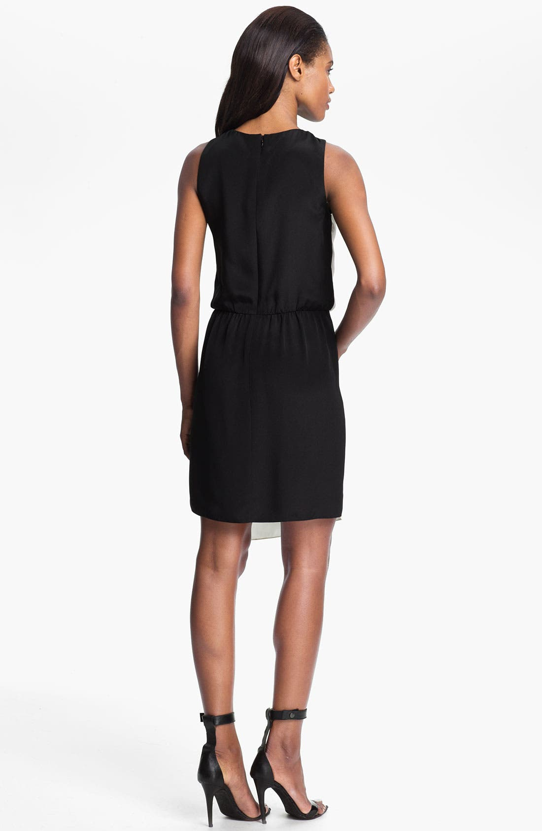 Alternate Image 2  - Tibi Two Tone Silk Dress