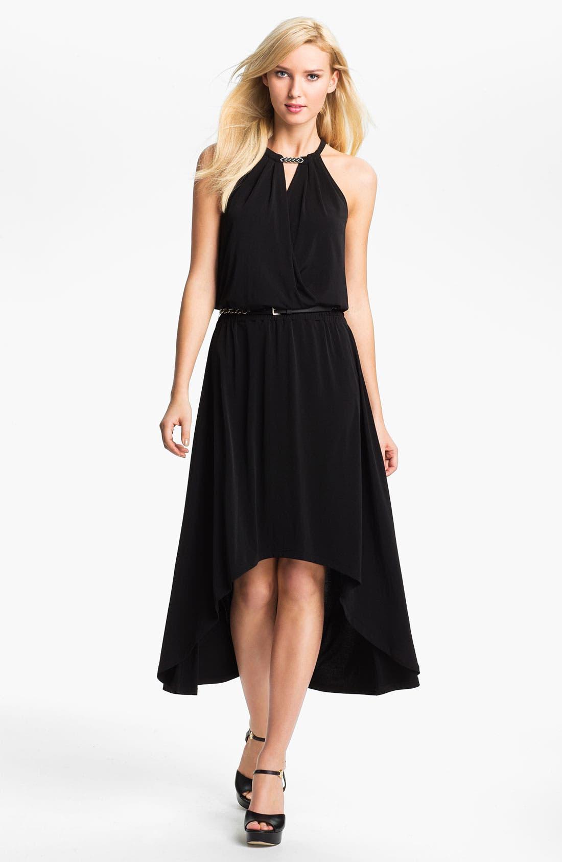 Main Image - MICHAEL Michael Kors Elliptical Hem Dress