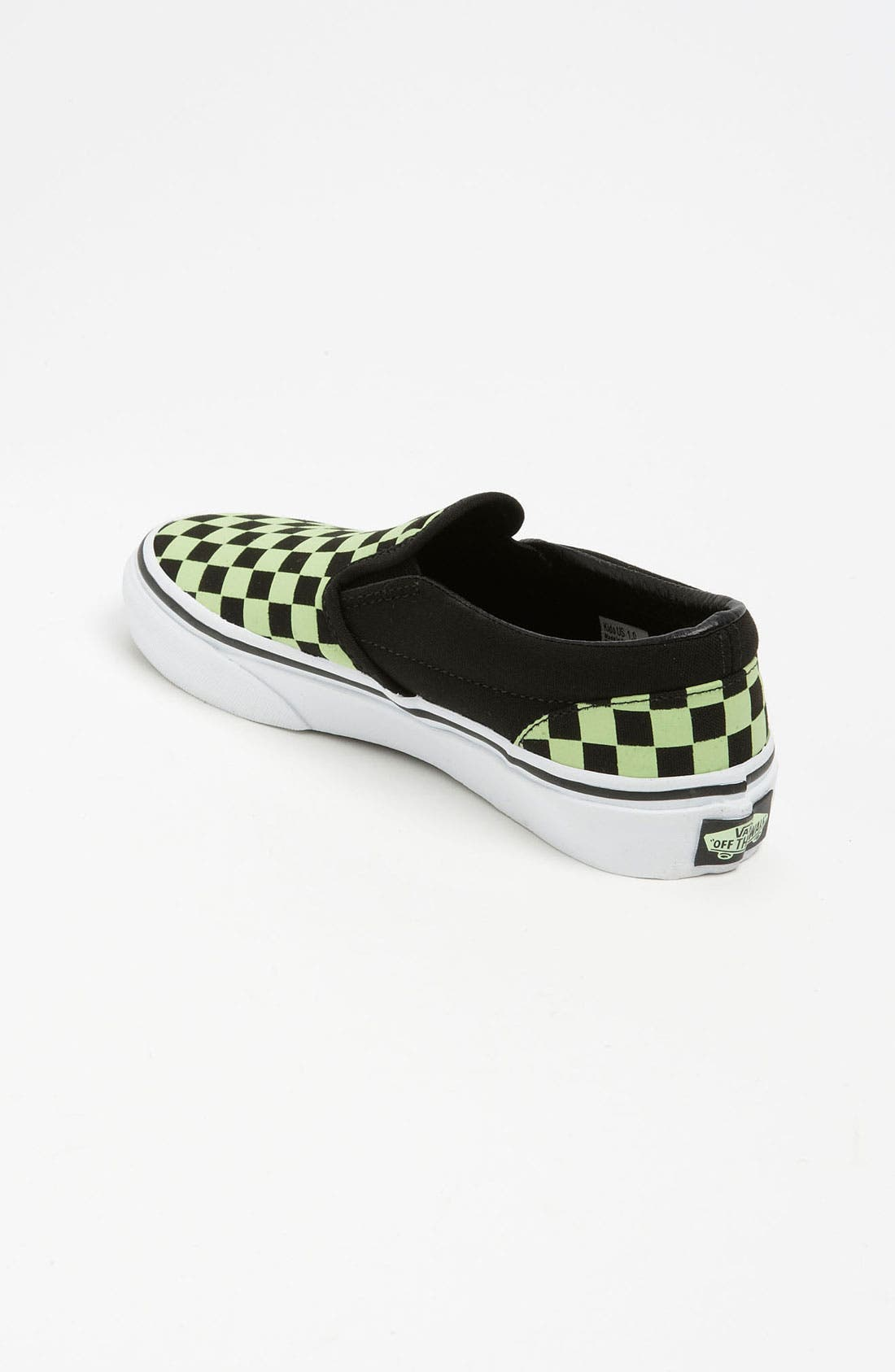Alternate Image 2  - Vans 'Classic Checker - Glow in the Dark' Slip-On (Toddler, Little Kid & Bid Kid)
