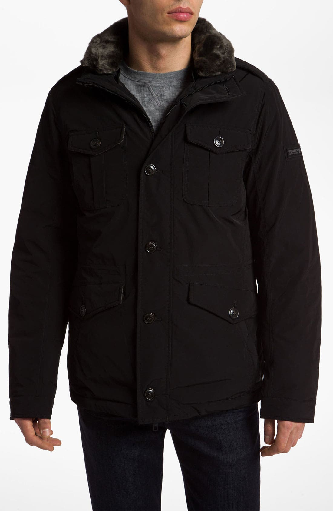 Alternate Image 1 Selected - Woolrich John Rich Down Field Jacket