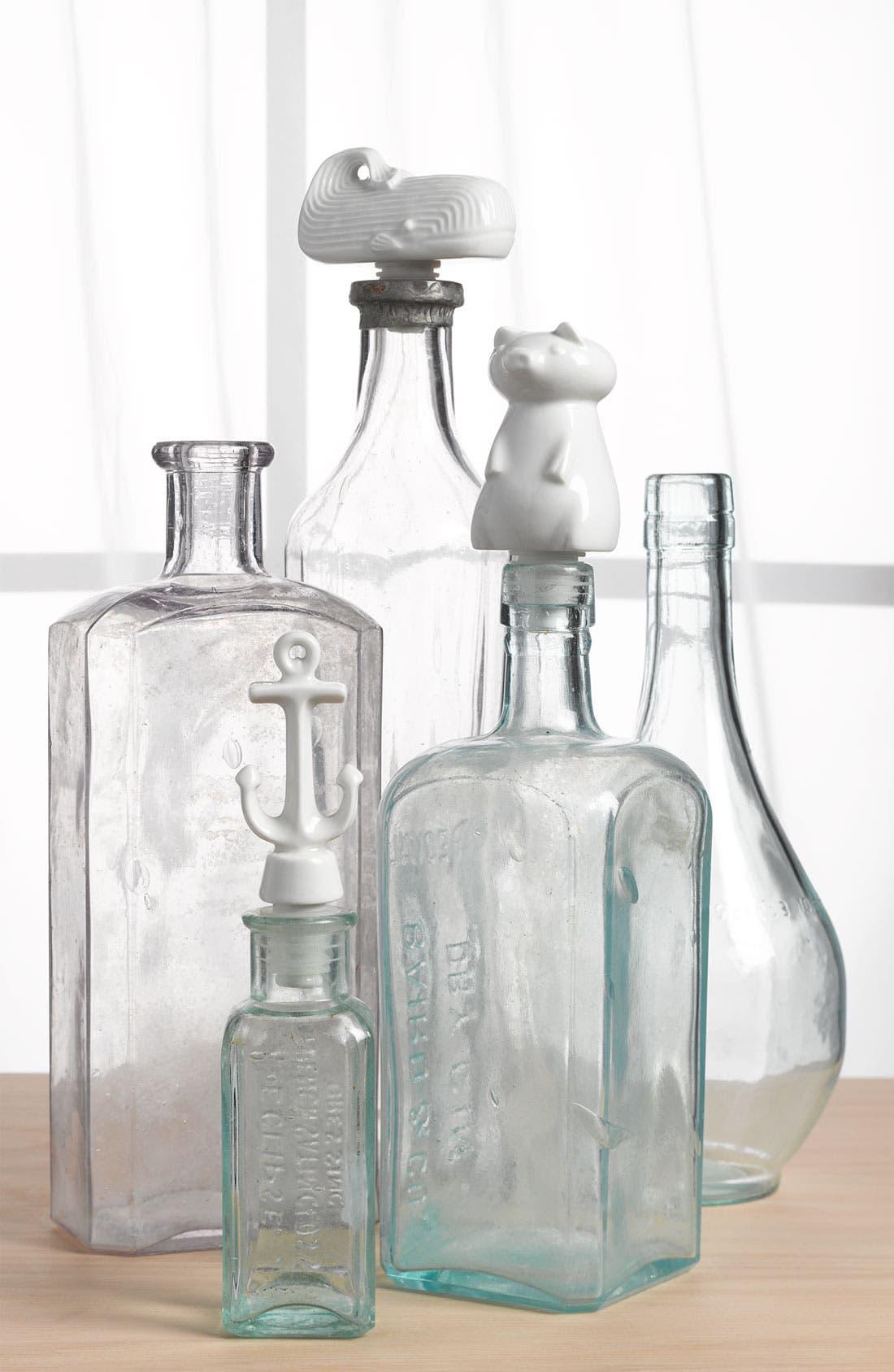 Alternate Image 3  - Jonathan Adler 'Moby Dick' Bottle Stopper Duo