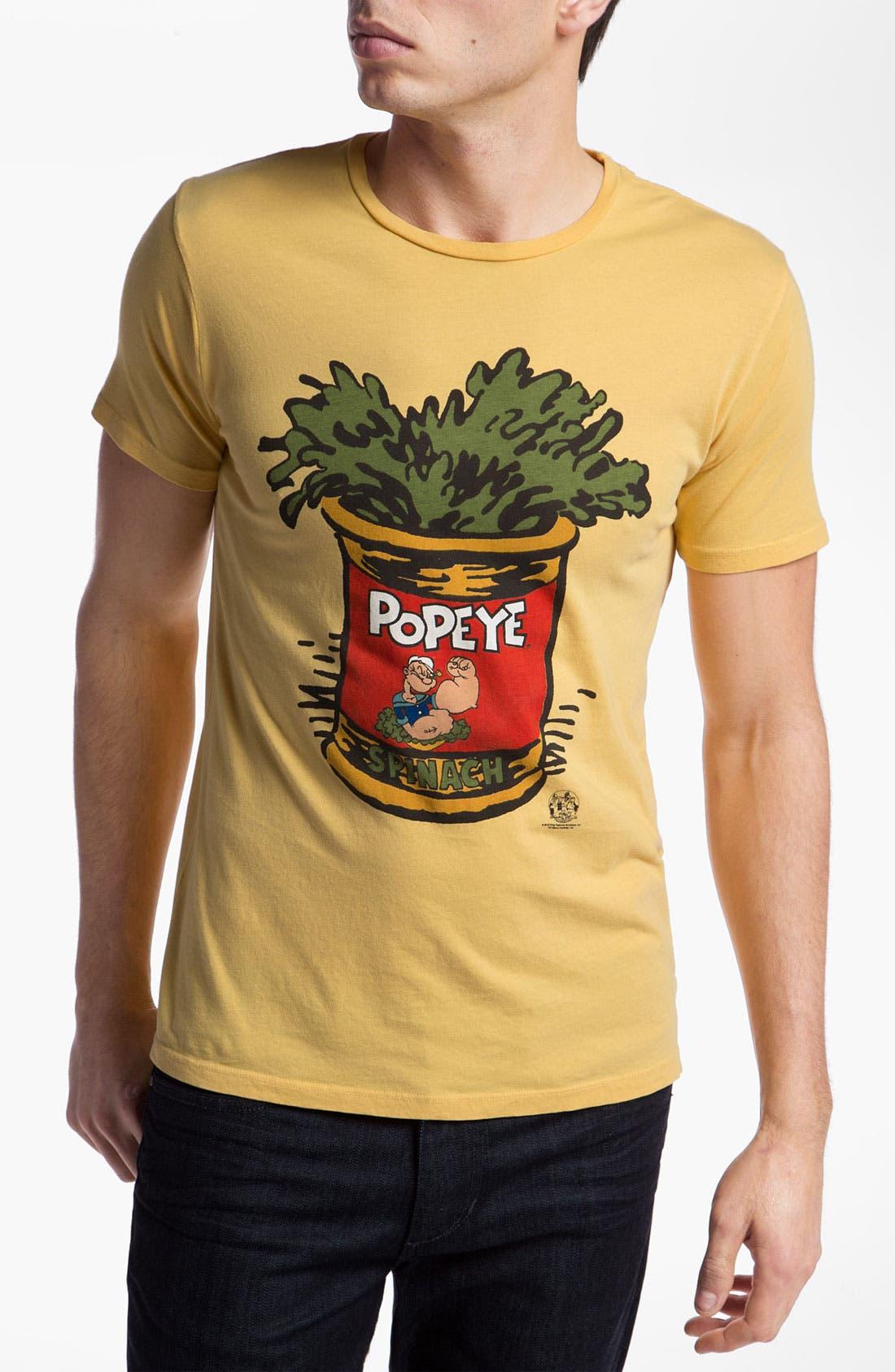 Main Image - Altru 'Popeye™ Spinach' Graphic T-Shirt