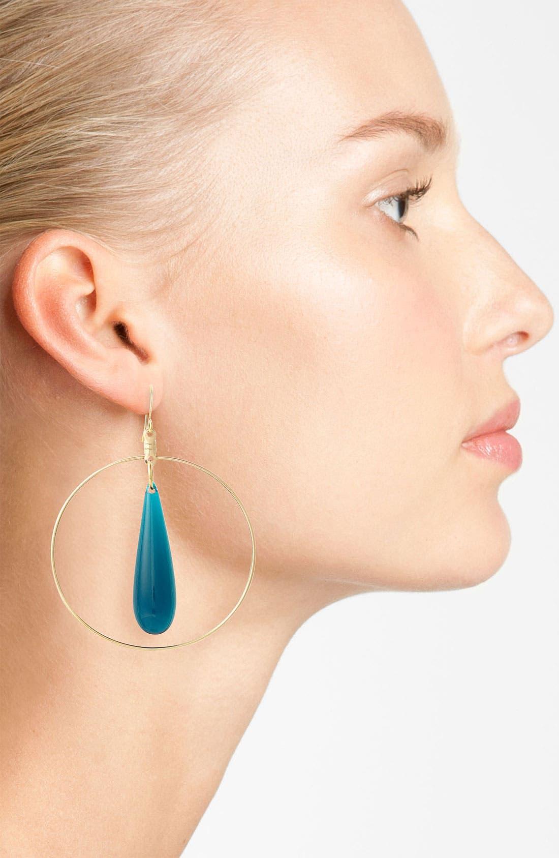 Alternate Image 2  - Verdier Jewelry 'Vintage Ocean Lucite' Earrings