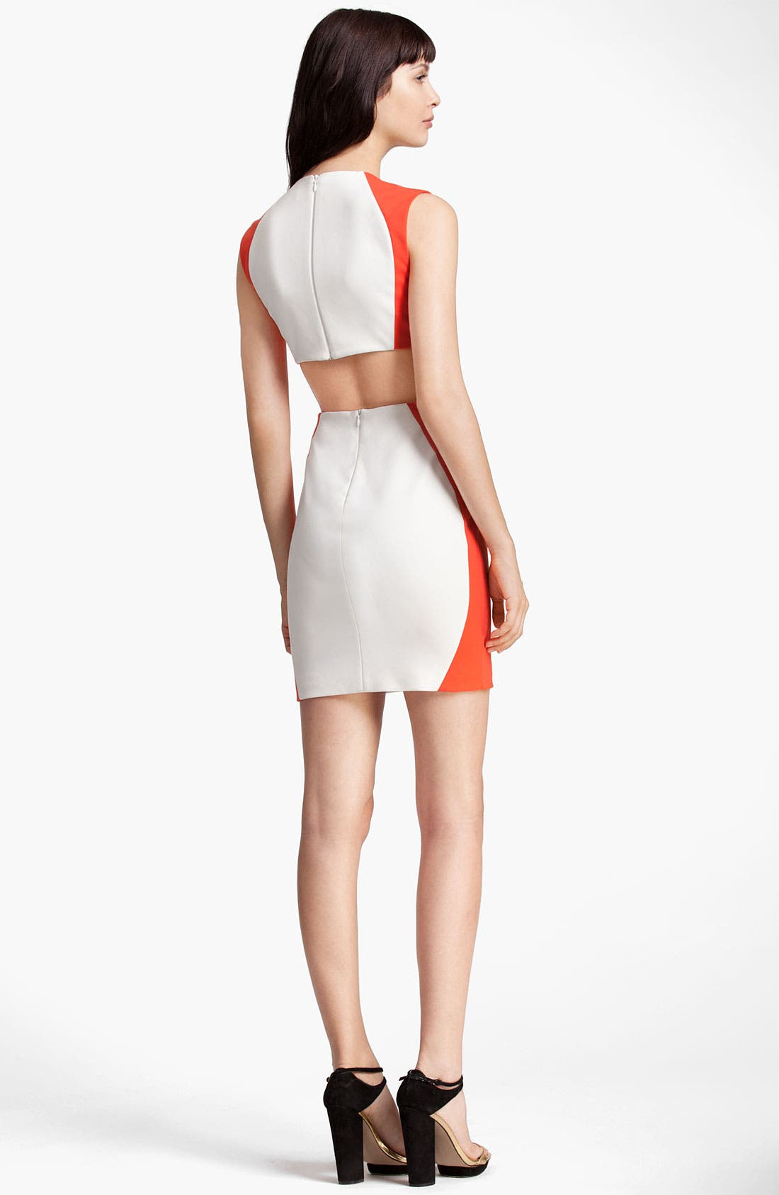 Alternate Image 2  - MSGM Colorblock Sheath Dress