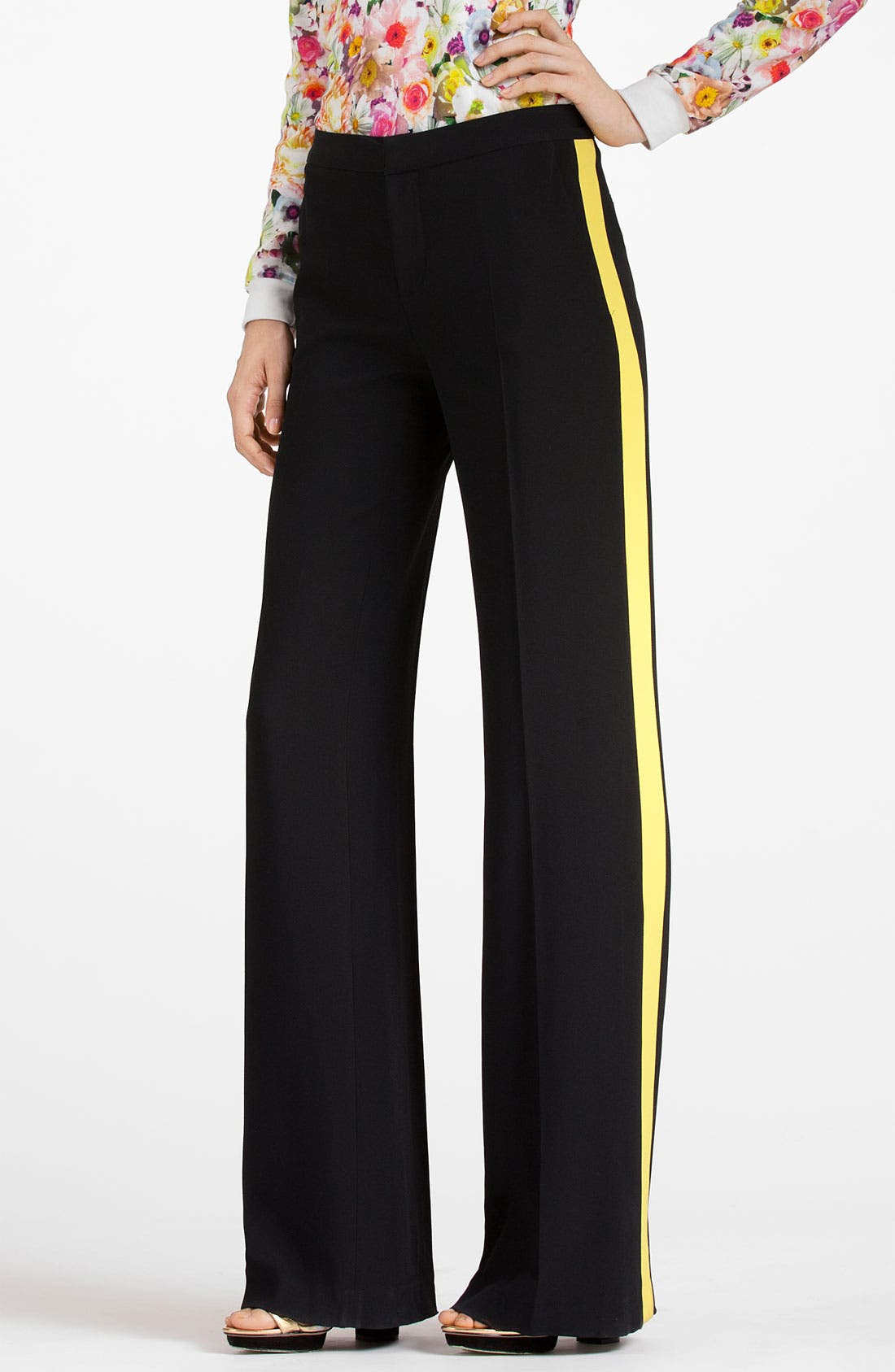 Alternate Image 1 Selected - MSGM Side Stripe Trousers