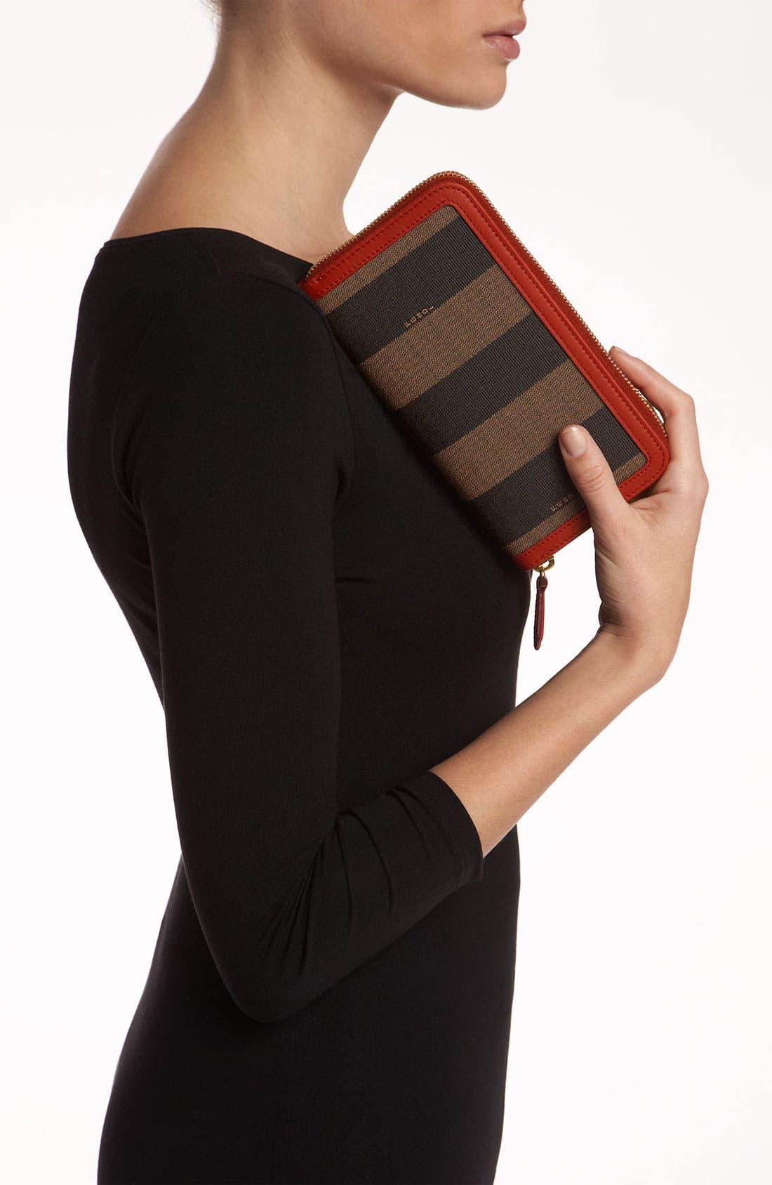 Alternate Image 2  - Fendi 'Pequin' Zip Around Wallet