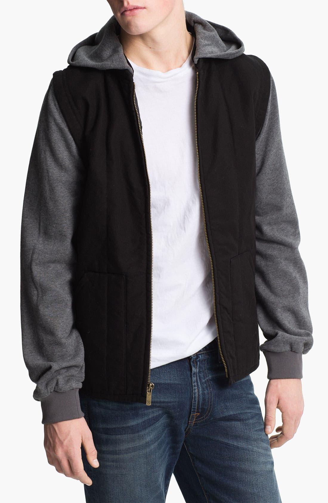 Main Image - Brixton 'Ruger' Convertible Jacket