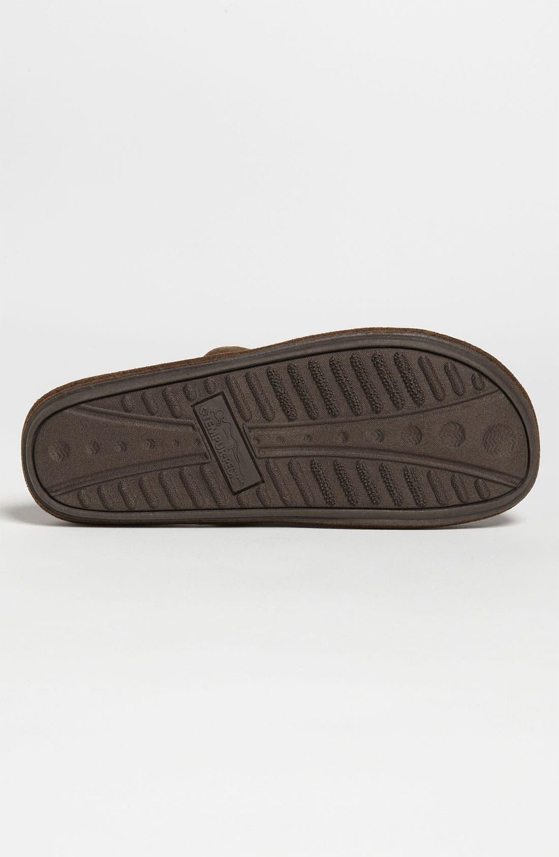 Alternate Image 4  - Tempur-Pedic® 'Corduroy Scuff' Slipper