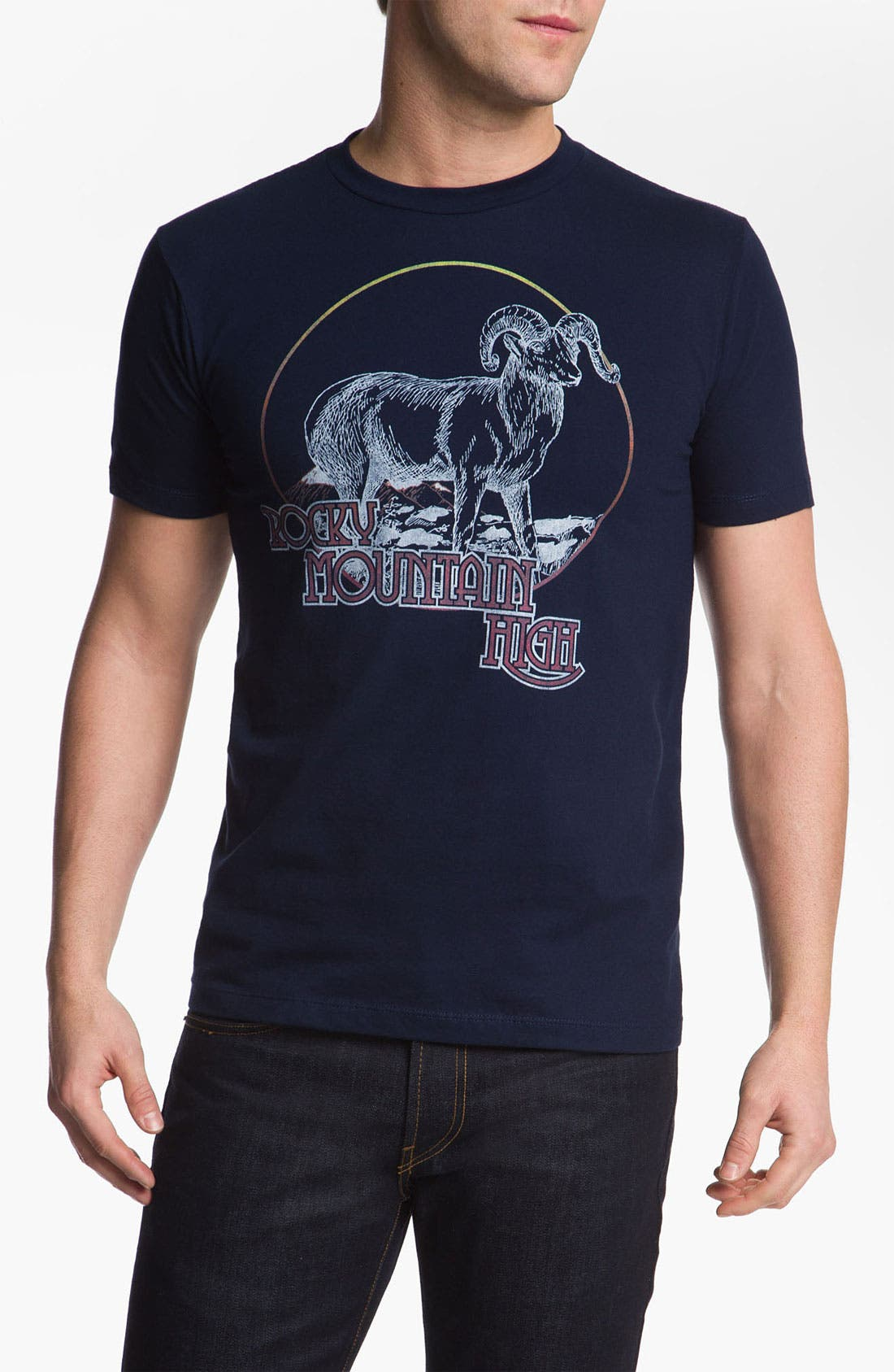 Alternate Image 1 Selected - Topless 'Rocky Mountain' T-Shirt