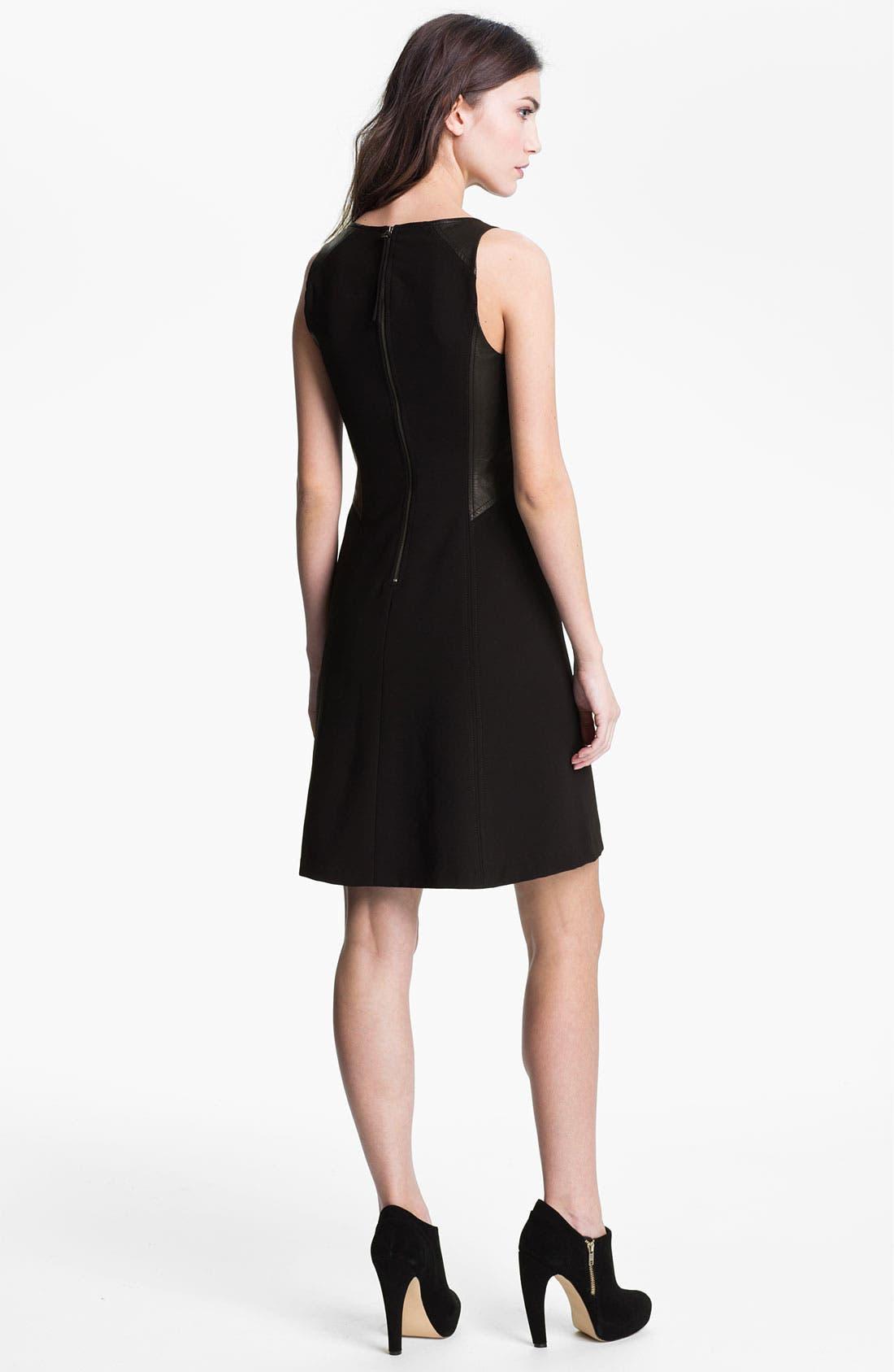 Alternate Image 2  - Rebecca Taylor Paneled A-Line Dress