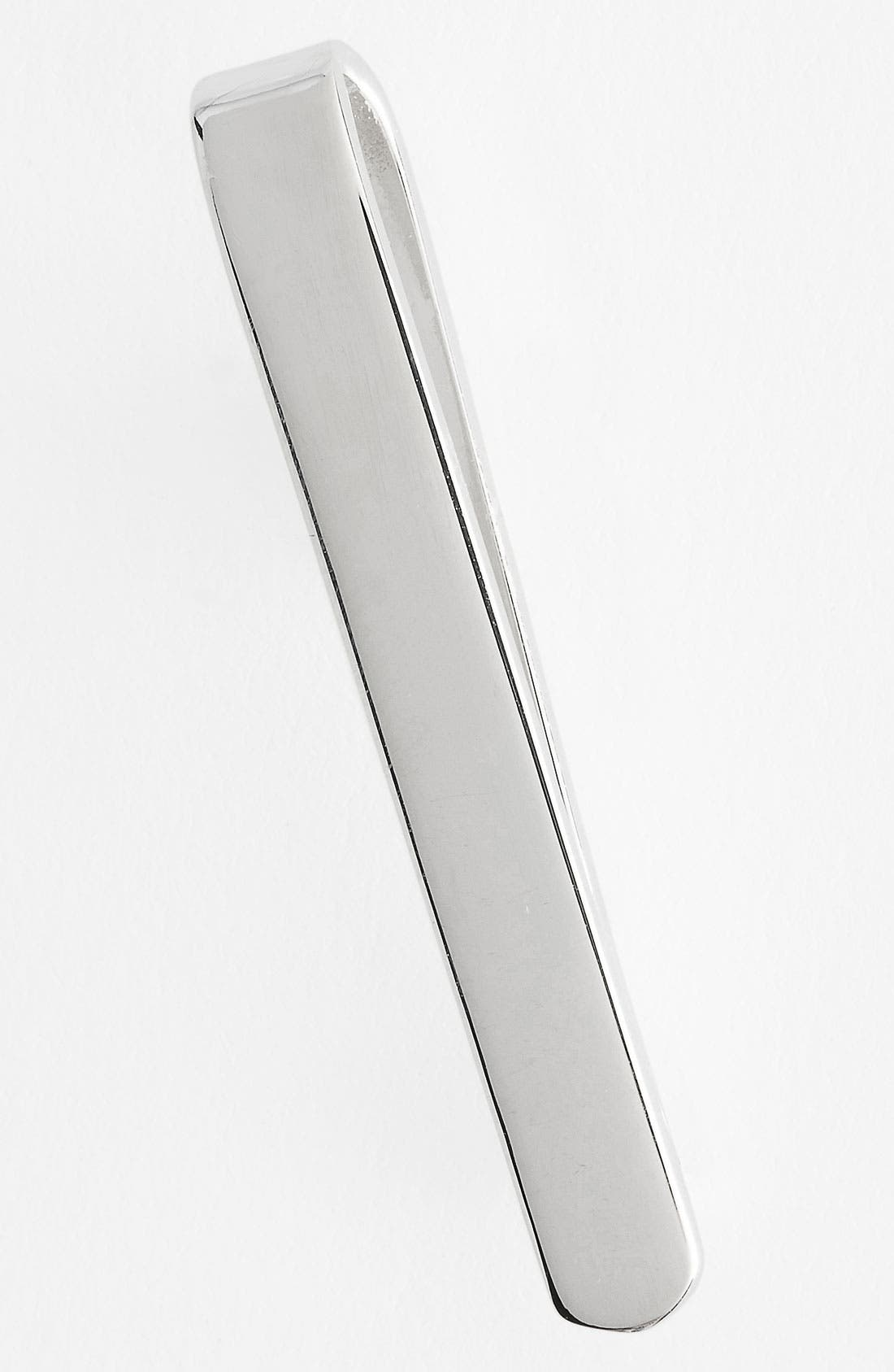 Alternate Image 1 Selected - The Tie Bar Sterling Silver Tie Bar