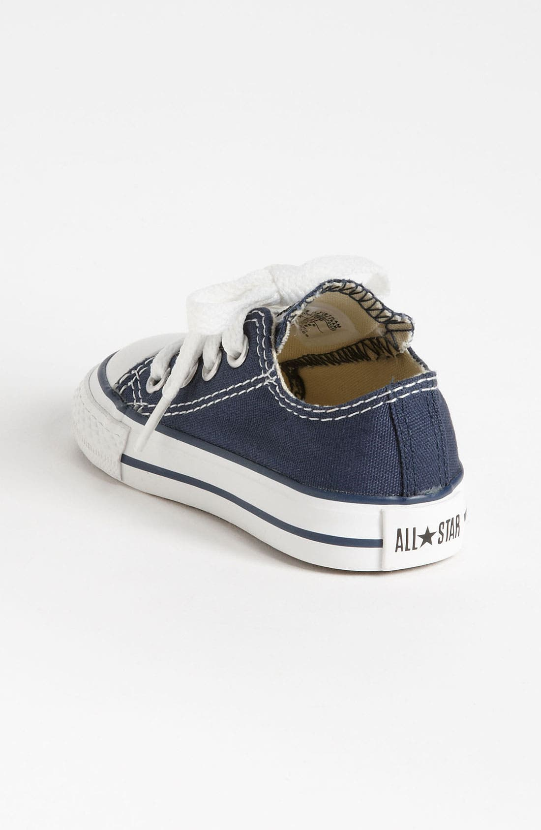 Alternate Image 2  - Converse Chuck Taylor® Low Top Sneaker (Baby, Walker & Toddler)