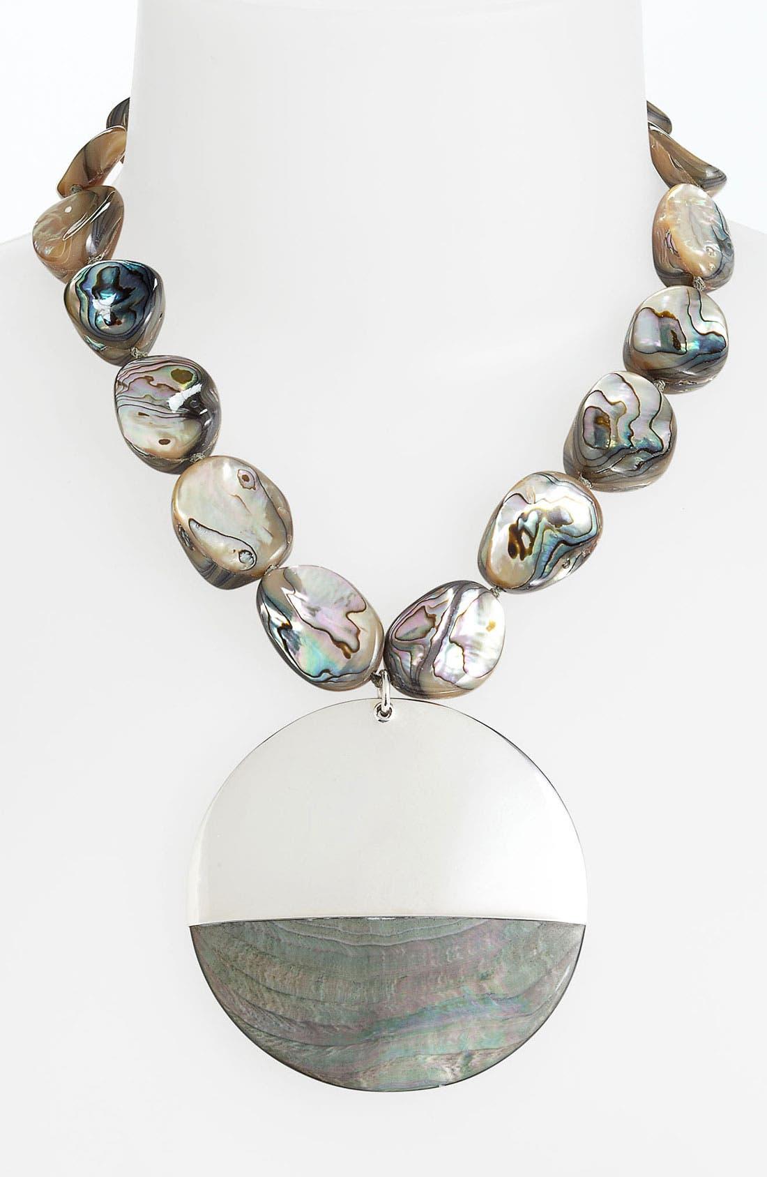 Alternate Image 1 Selected - Simon Sebbag 'Tahiti' Pendant Necklace