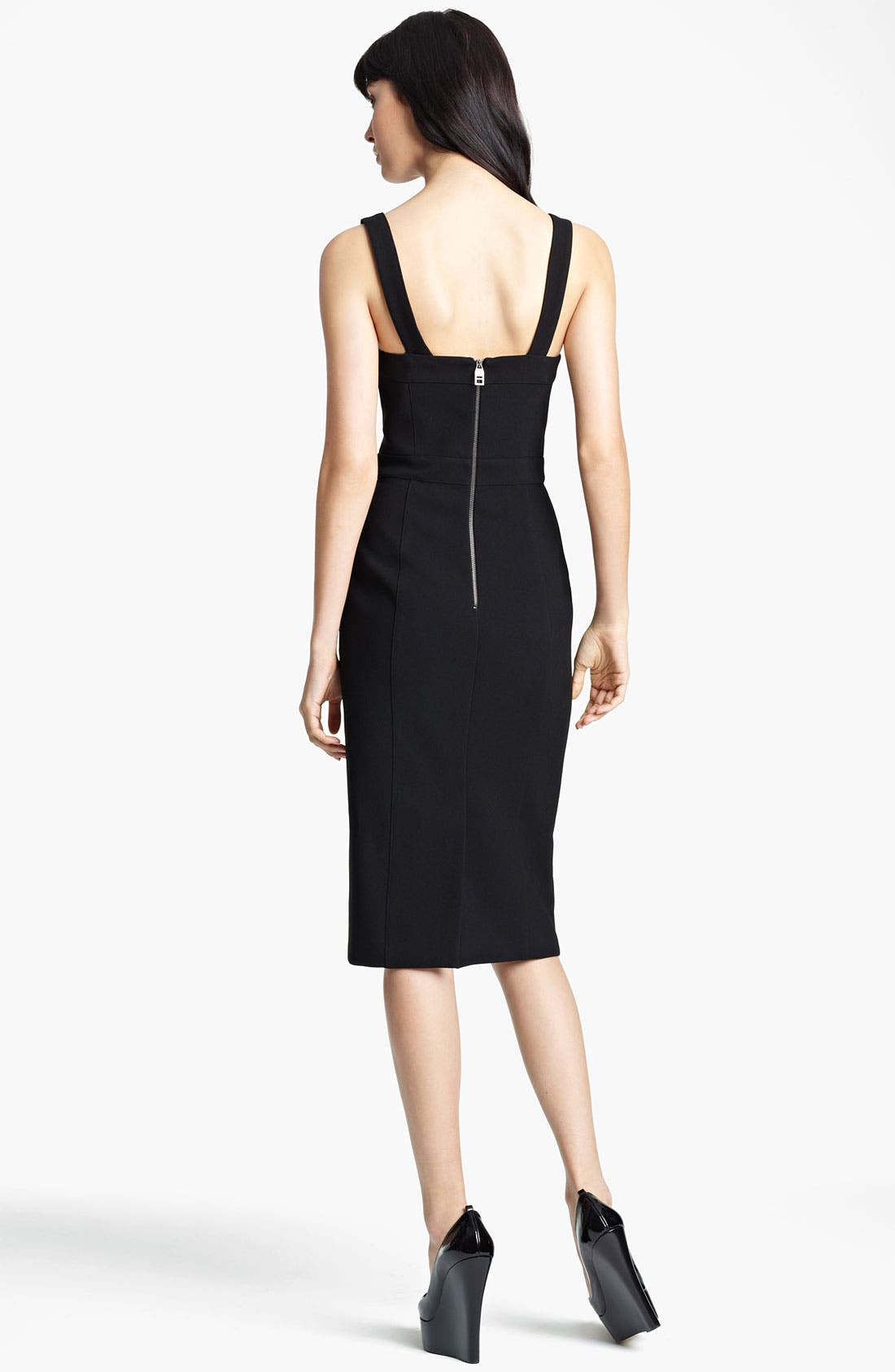 Alternate Image 2  - Burberry Prorsum Bustier Dress