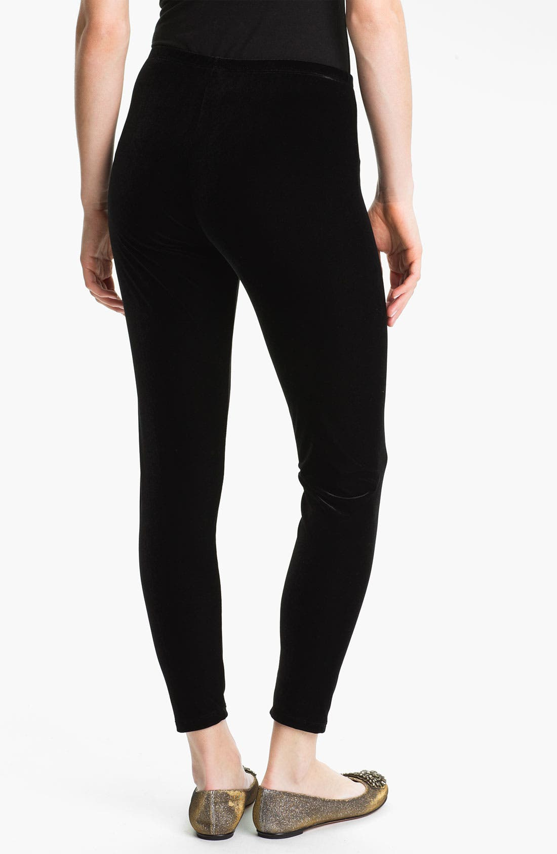 Alternate Image 2  - Eileen Fisher Ankle Leggings (Online Exclusive)
