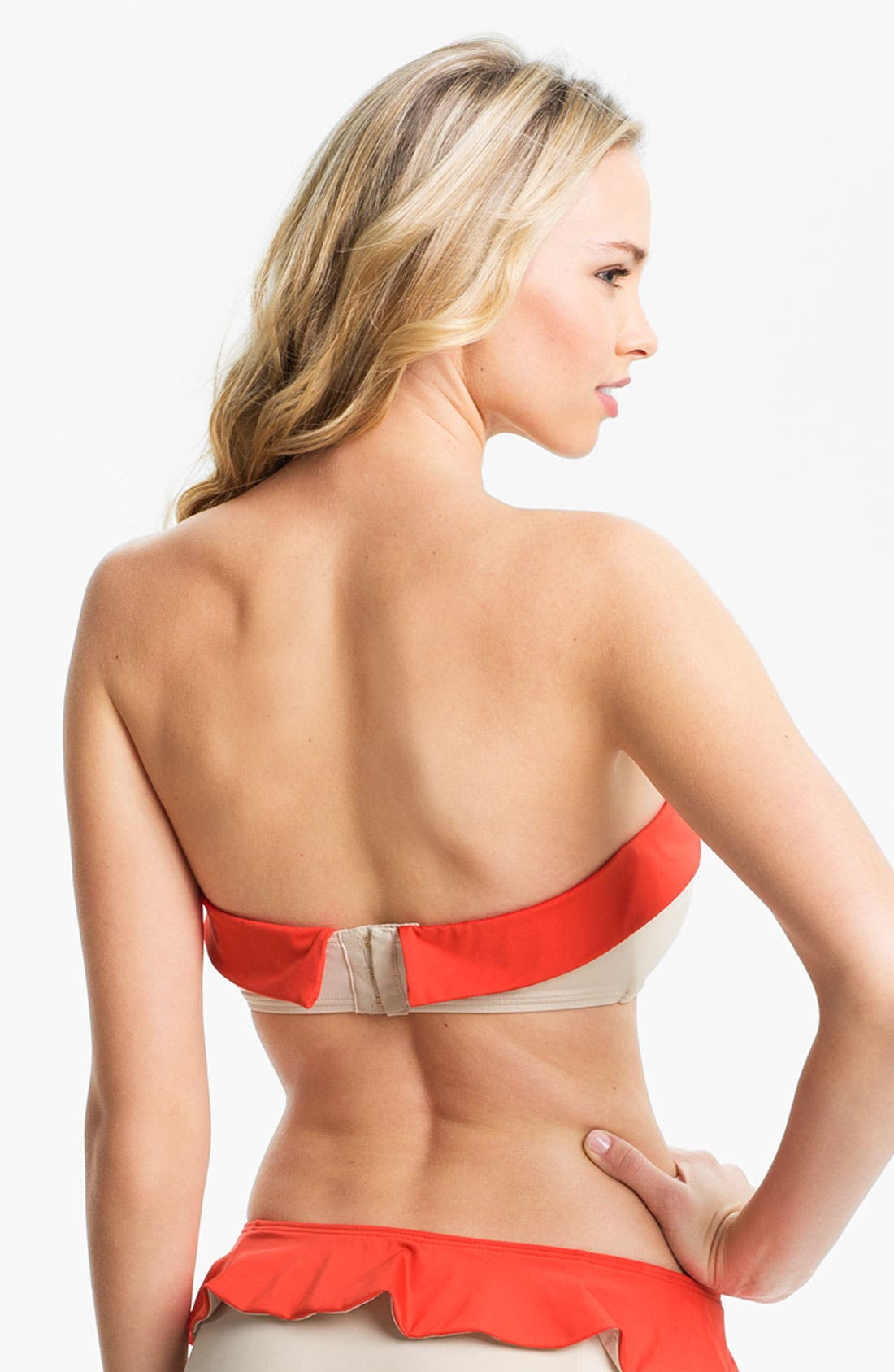 Alternate Image 2  - MARC BY MARC JACOBS Colorblock Bandeau Bikini Top