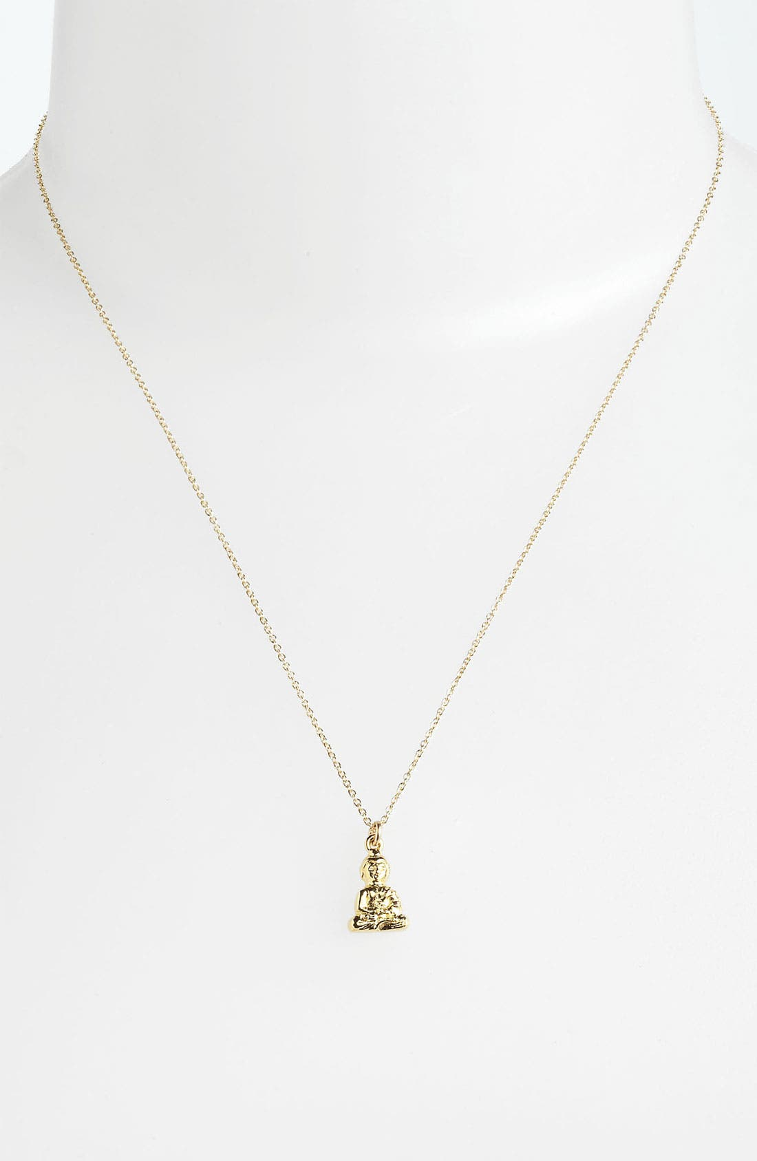 Alternate Image 2  - Dogeared 'Namaste Buddha' Pendant Necklace (Nordstrom Exclusive)