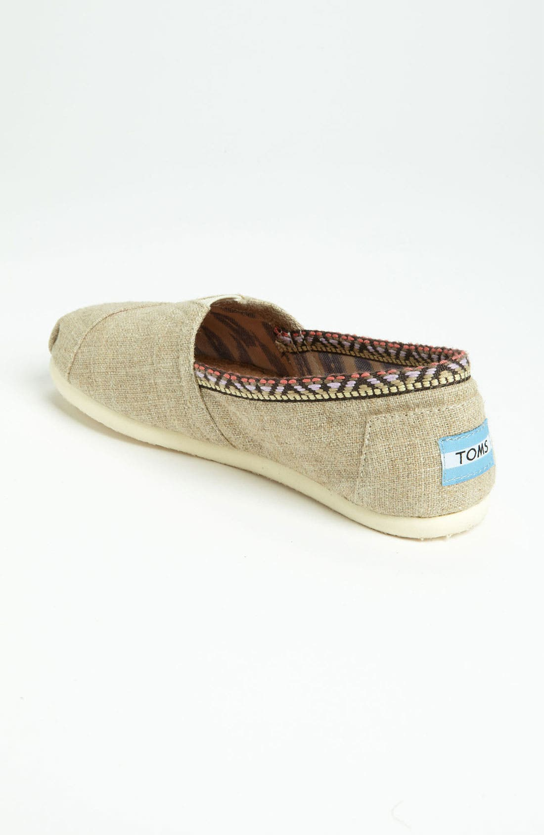 Alternate Image 2  - TOMS 'Classic - Trim' Slip-On (Women)