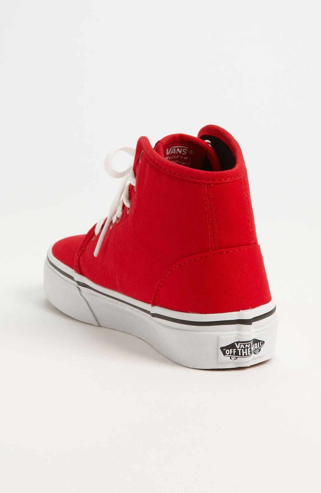 Alternate Image 2  - Vans '106 Hi' Sneaker (Toddler, Little Kid & Big Kid)