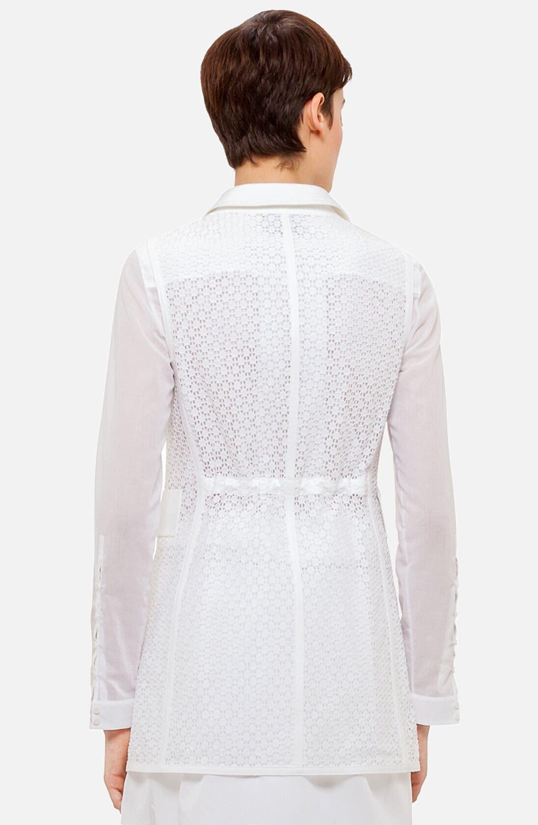 Alternate Image 2  - Akris punto Lace Back Vest