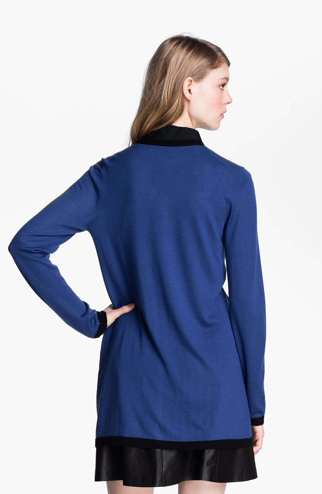 Alternate Image 3  - Miss Wu 'Sofie' Color Tipped Cashmere Cardigan (Nordstrom Exclusive)